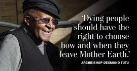Week 40 - Desmond Tutu bepleit assisted dying